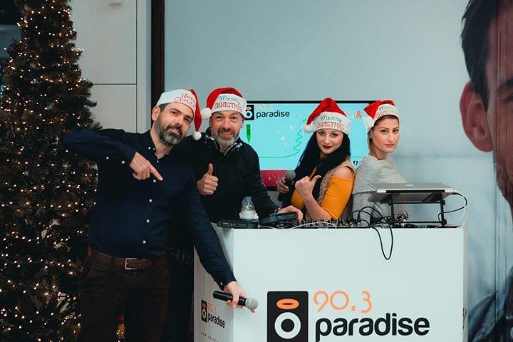Ο Paradise 90,3 στο Flamingo Retail Park για την ζωντανή μετάδοση του γιορτινού TOP-30…