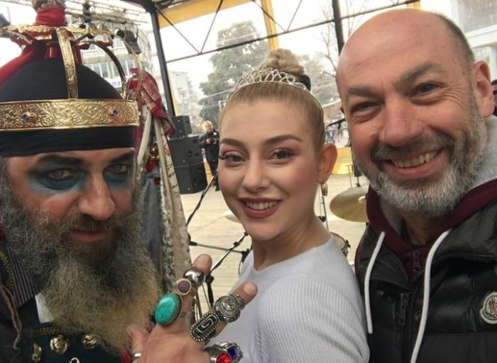 Με την Βασίλισσα του Καρναβαλιού μας για το 2019 και το Βασιλιά στο κεντρικό…