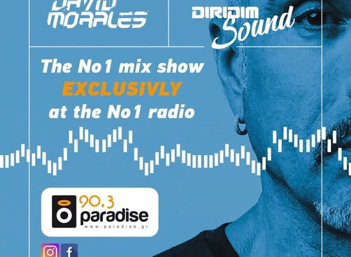 And ON AIR David Morales in the mix @ #parafise903 #paradisenews