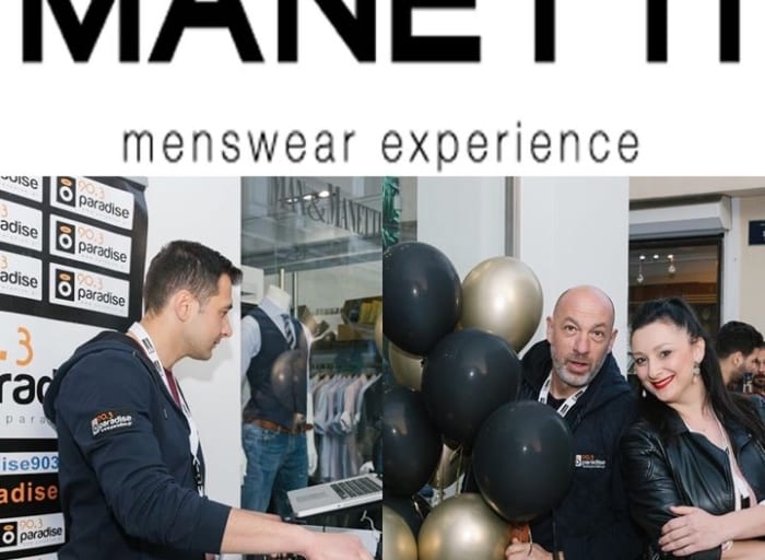 Its party time! The new Manetti store Xanthi. Live event by Paradise 90,3! #paradise903…